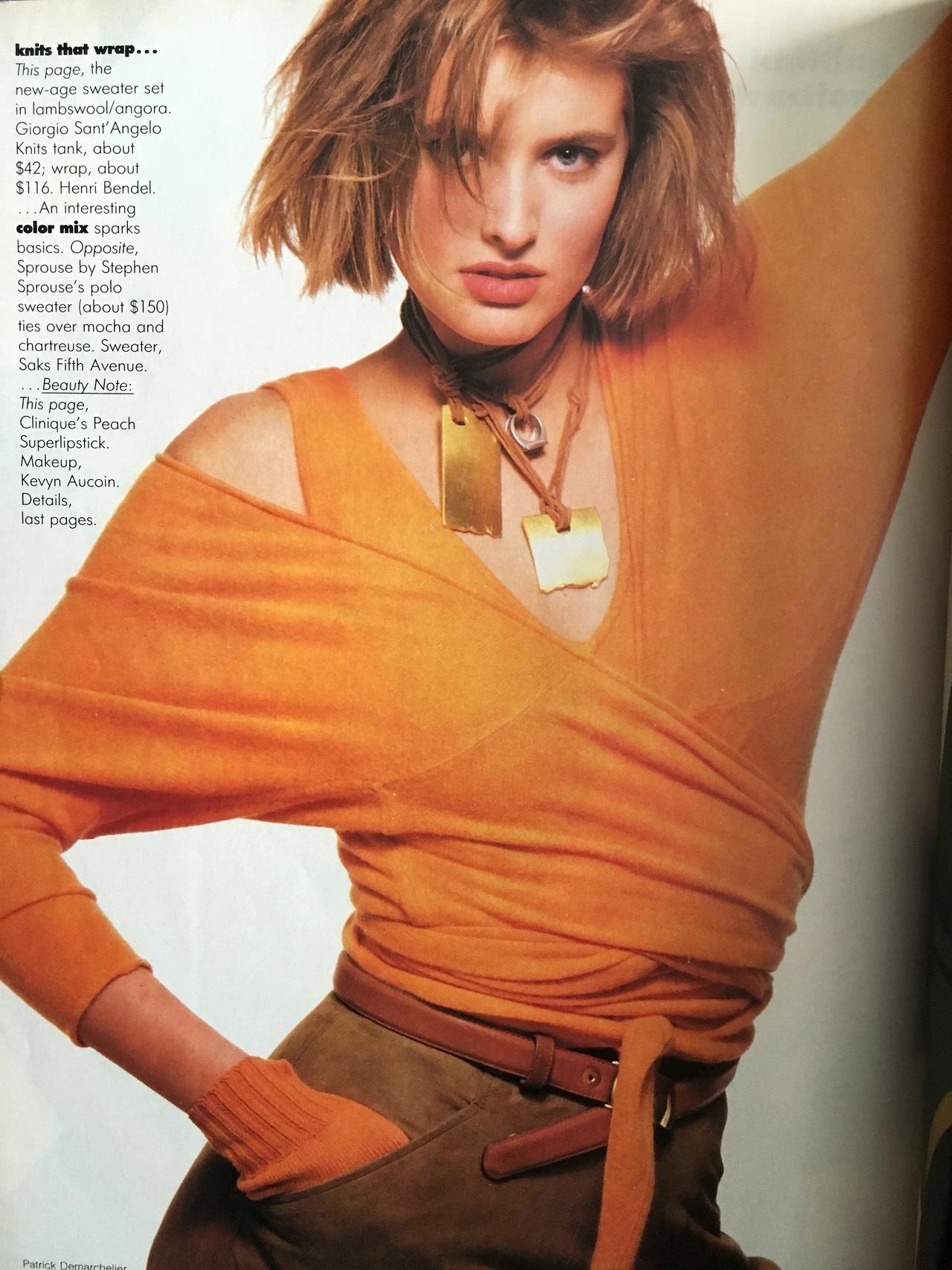 Vogue. June 1988.