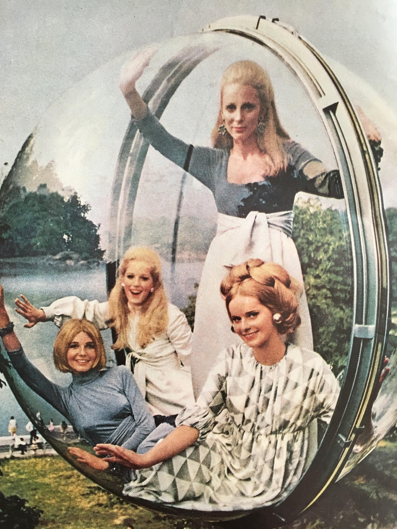 """""""And now! A whole new breed…a whole new speed of blondes. Blondes…with the look of a lady!"""" Lady Clairol.     Ladies' Home Journal. June 1963."""