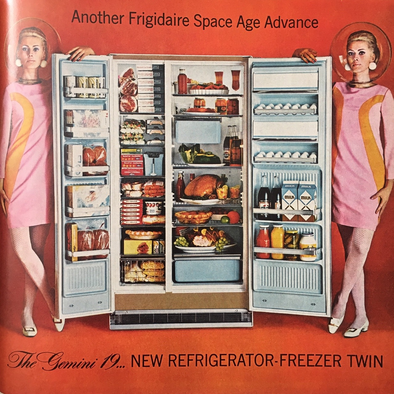 Another Frigidaire Space Age Advance.     Better Homes and Gardens. June 1966.