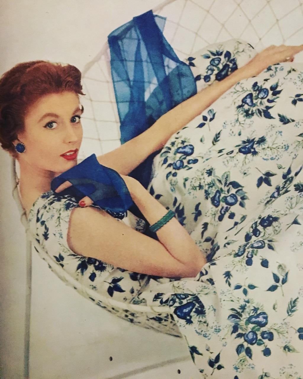 Dresses.     Charm. June 1954.