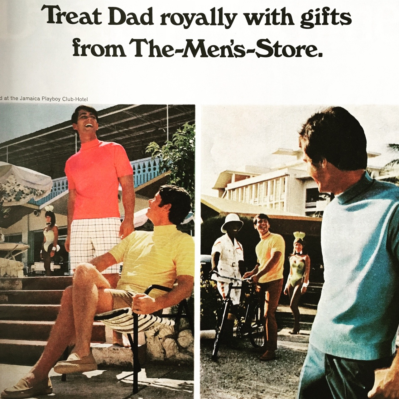 Treat Dad royally with gifts from The Men's Store. Sears.     McCall's Magazine. June 1969.