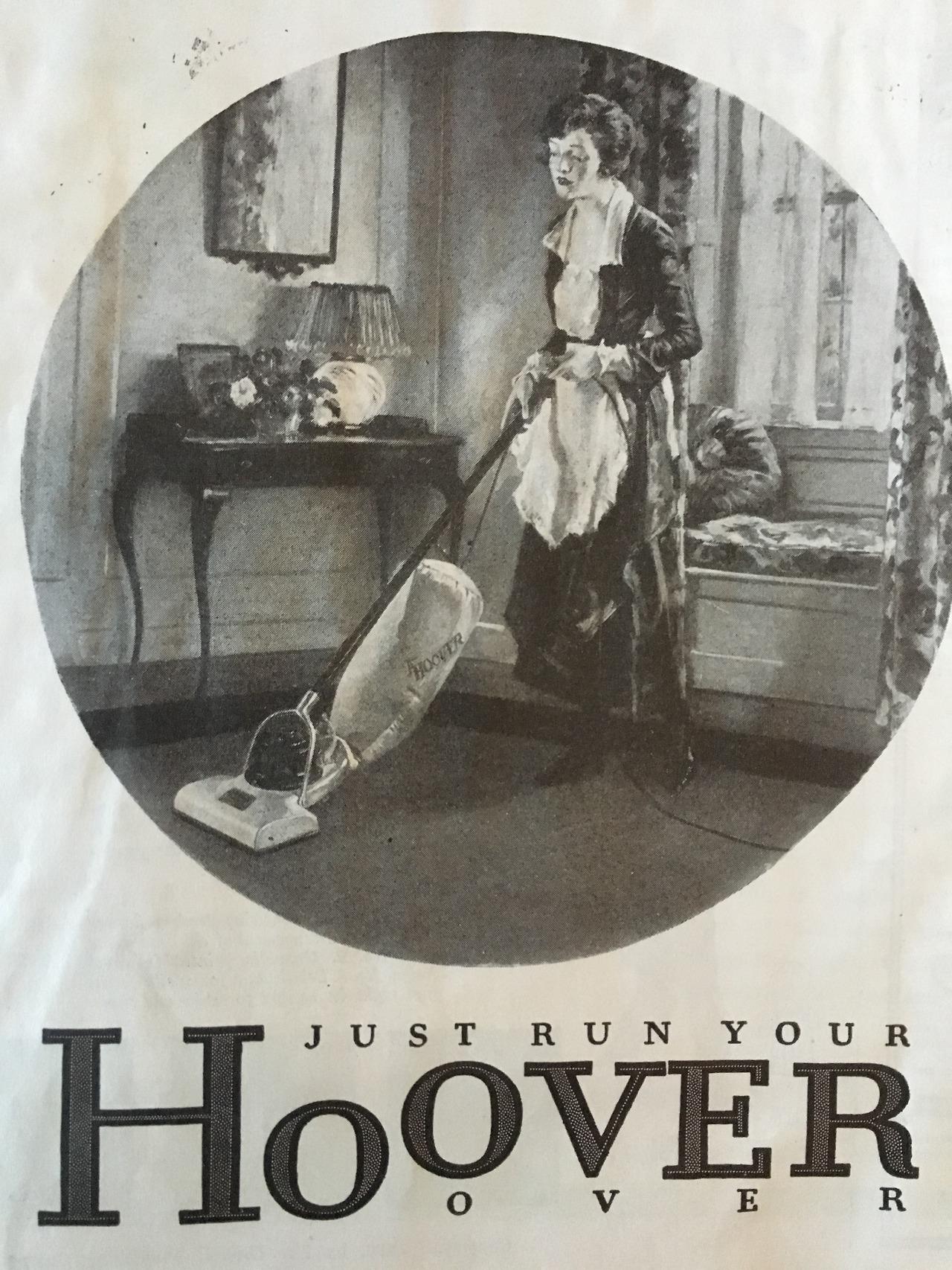 Hoover vacuum.     Woman's Home Companion. June 1919.