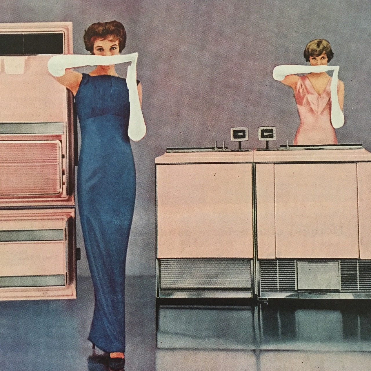 Sheer Look Color by Frigidaire.   Ladies' Home Journal. May 1957.