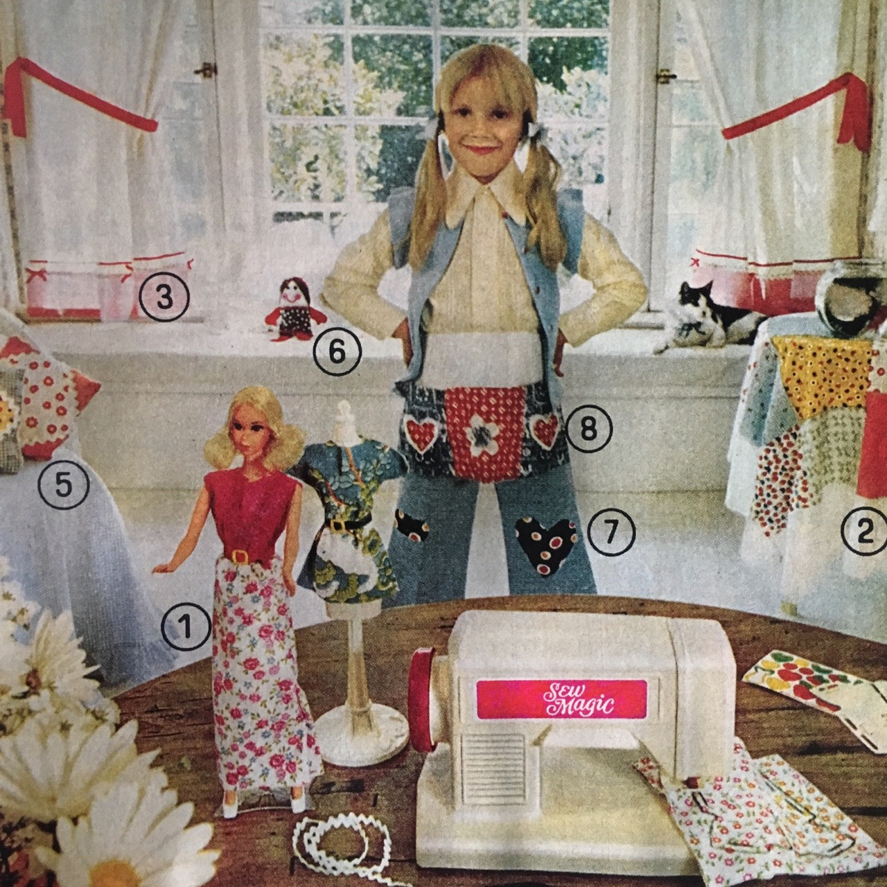 Sew Magic by Mattel.   Better Homes and Gardens. May 1974.
