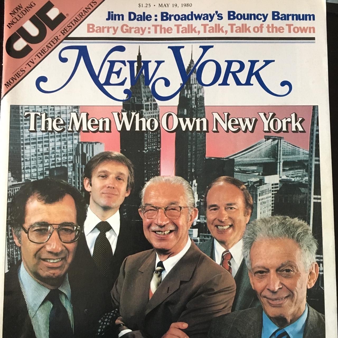 The Men Who Own New York. New York Magazine. May 19, 1980.