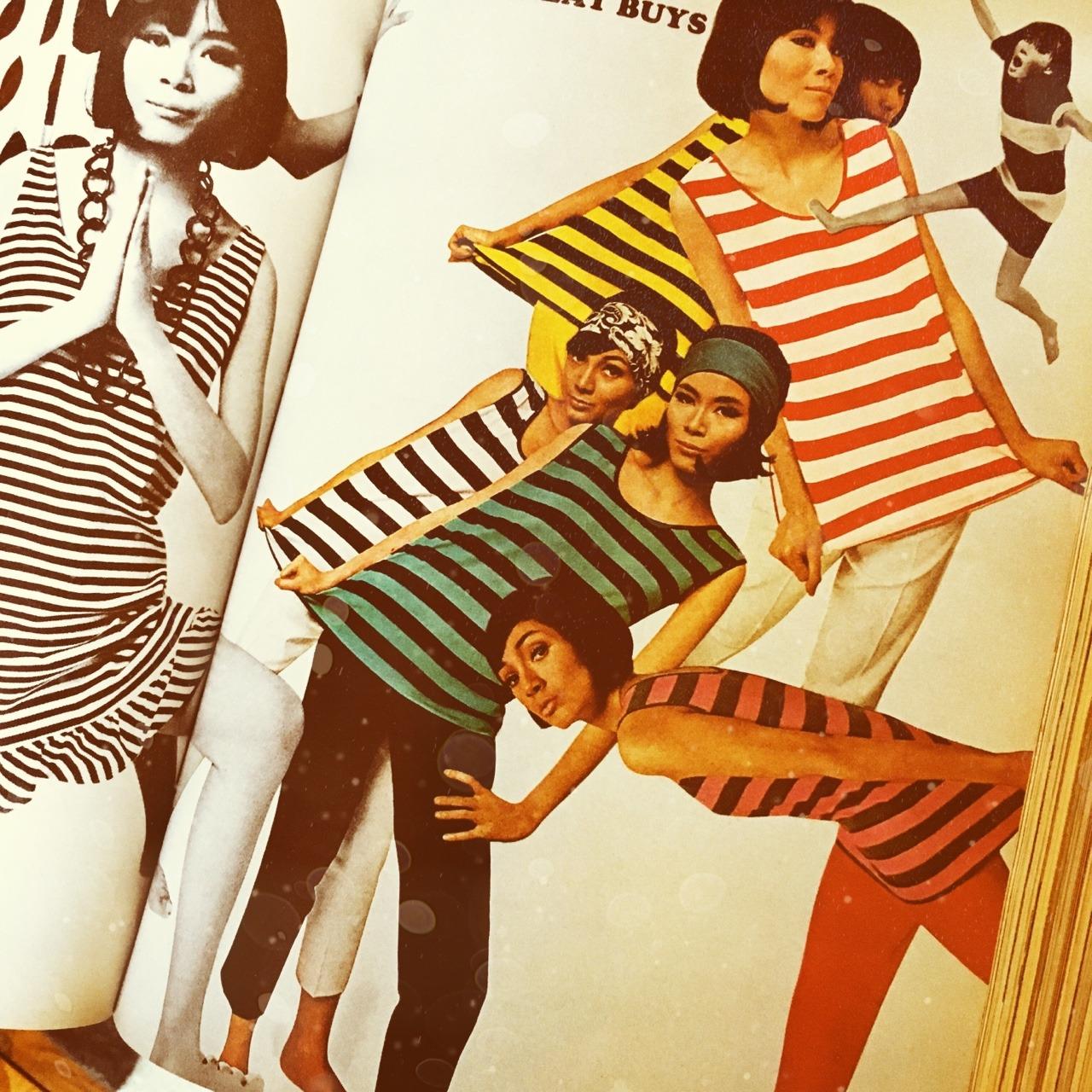 Mademoiselle Magazine. June 1964.