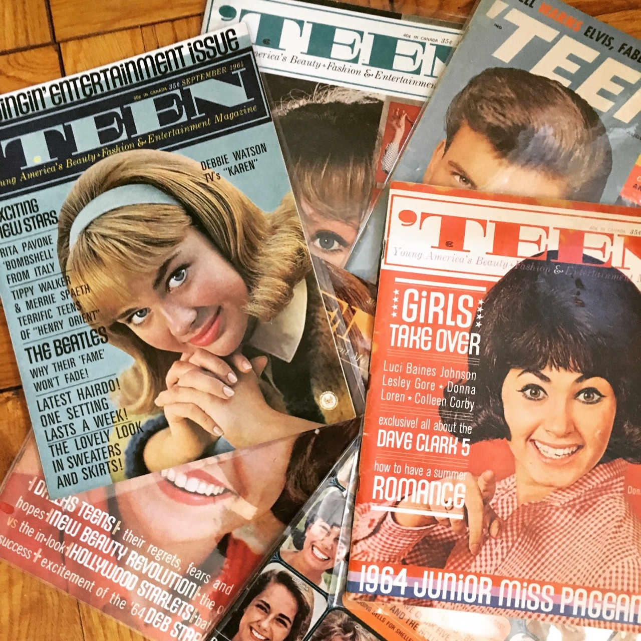 Another new addition to the collection! 'Teen Magazine issues from 1964.