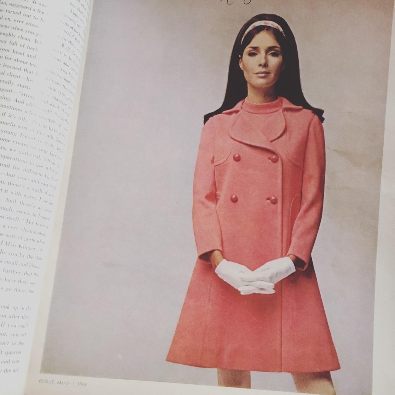 Vogue. March 1968.