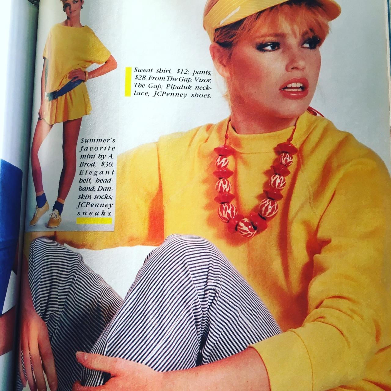 Cosmopolitan Magazine. April 1983.