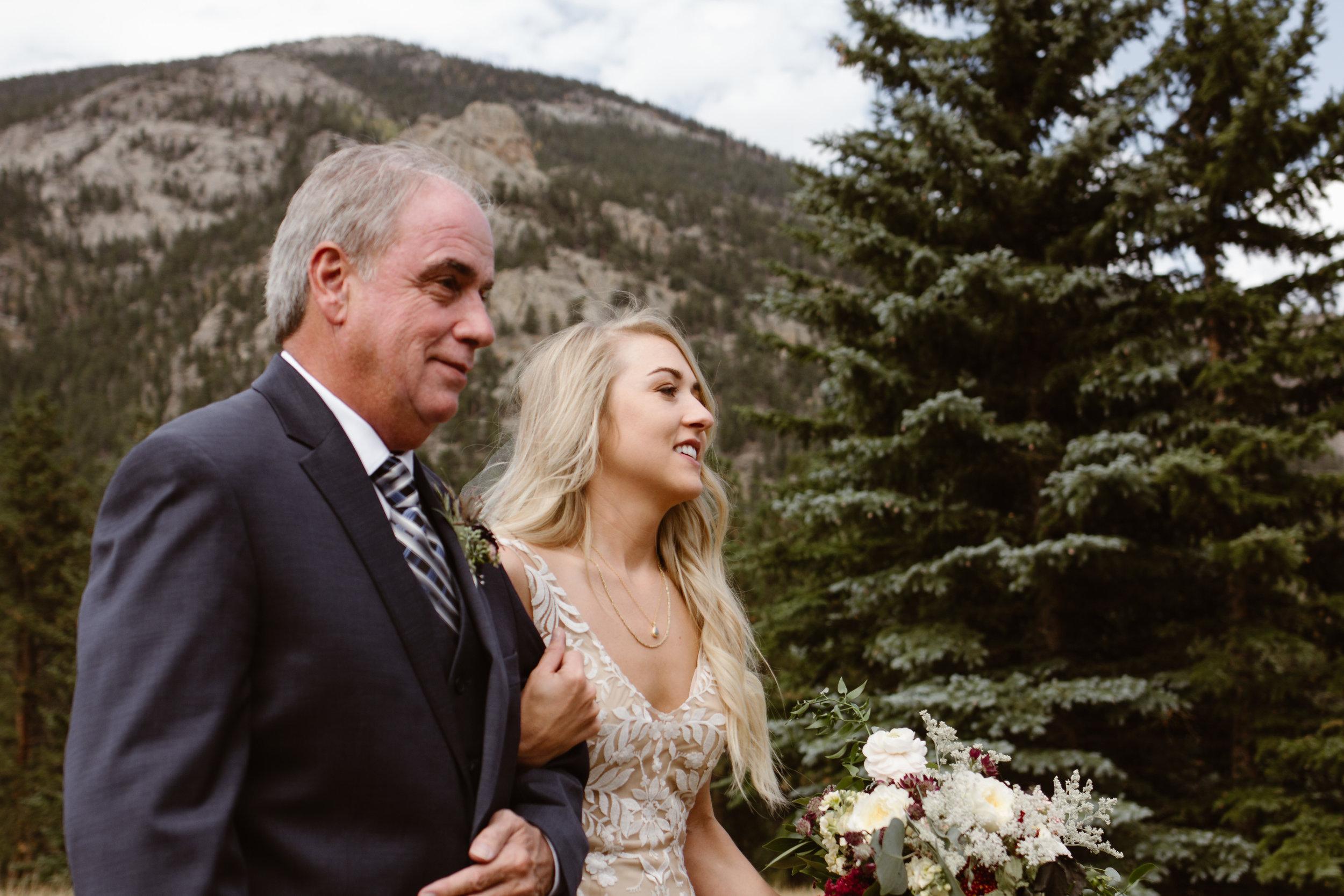 Estes Park Wedding
