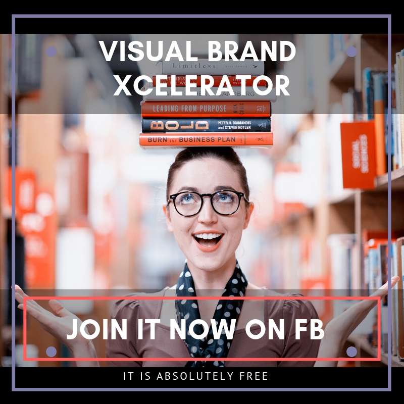 Visual Brand Xcelerator - FREE Facebook support group for business owners