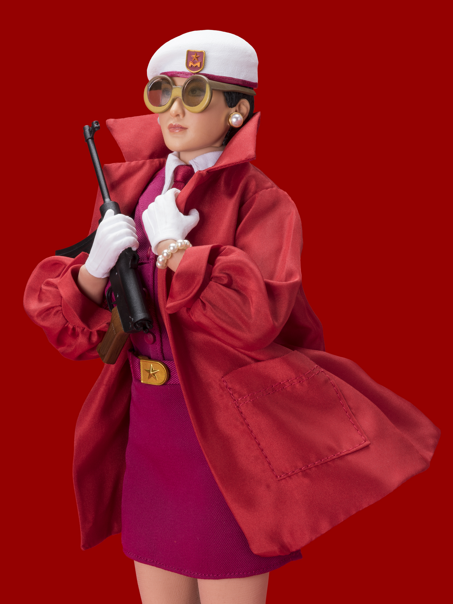 RED CHINESE DOLL (IN RED)