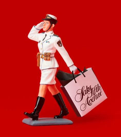 THE PEOPLE'S LIBERATION ARMY GOES SHOPPING (AT SAKS)