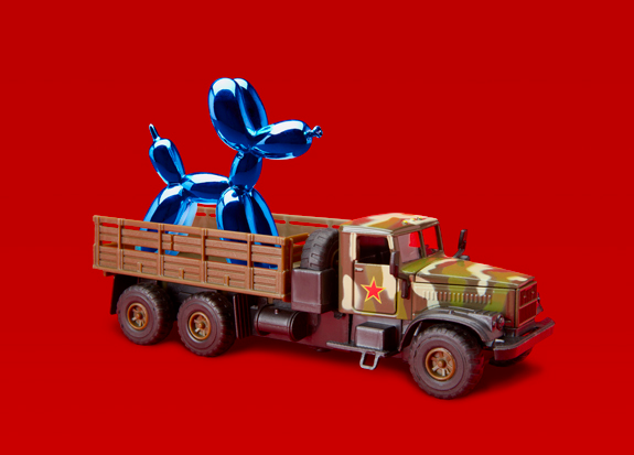 THE PEOPLE'S LIBERATION ARMY GOES SHOPPING (FOR A JEFF KOONS BALLON DOG