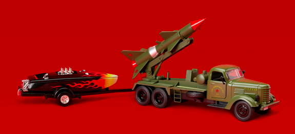 THE PEOPLE'S LIBERATION ARMY GOES SHOPPING (FOR A SILLY SPEEDBOAT)