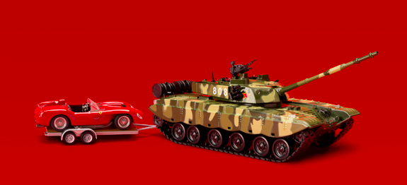 THE PEOPLE'S LIBERATION ARMY GOES SHOPPING (FOR A 1957 FERRARI TESTA ROSSA