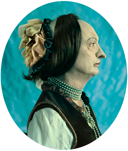 PORTRAIT OF JIM RISWOLD AS CINDY SHERMAN, UNTITLED #211