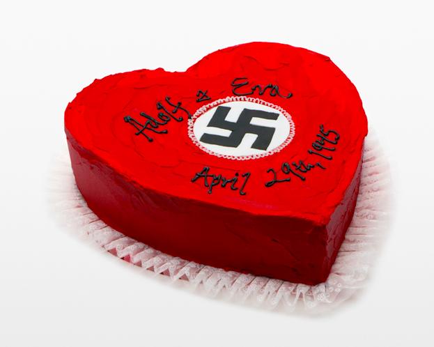 ADOLF 'N' EVA'S WEDDING CAKE