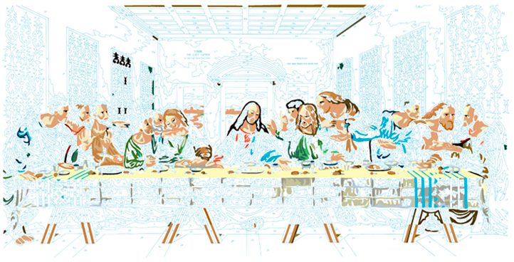 LAST SUPPER #6