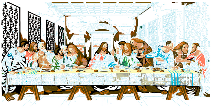 LAST SUPPER #14