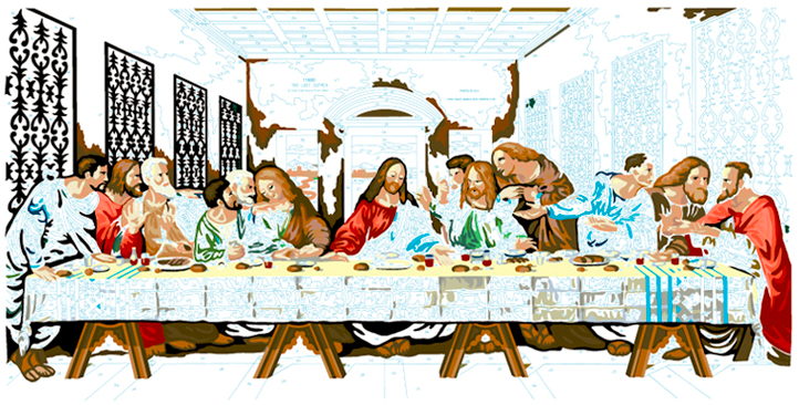 LAST SUPPER #18