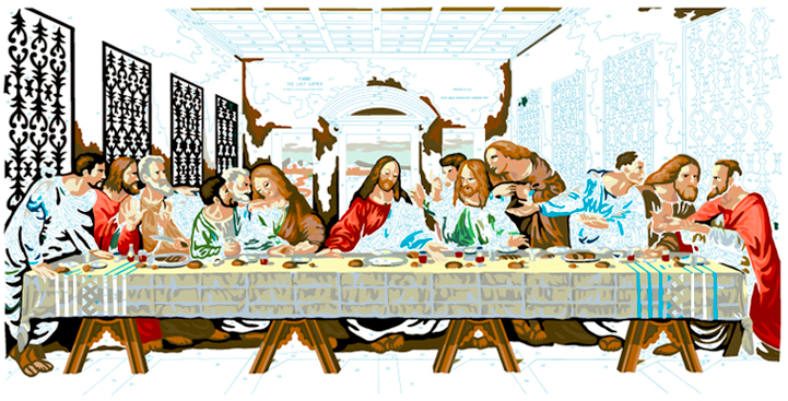 LAST SUPPER #24