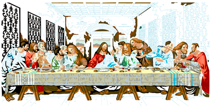 LAST SUPPER #25