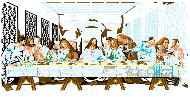 LAST SUPPER #12