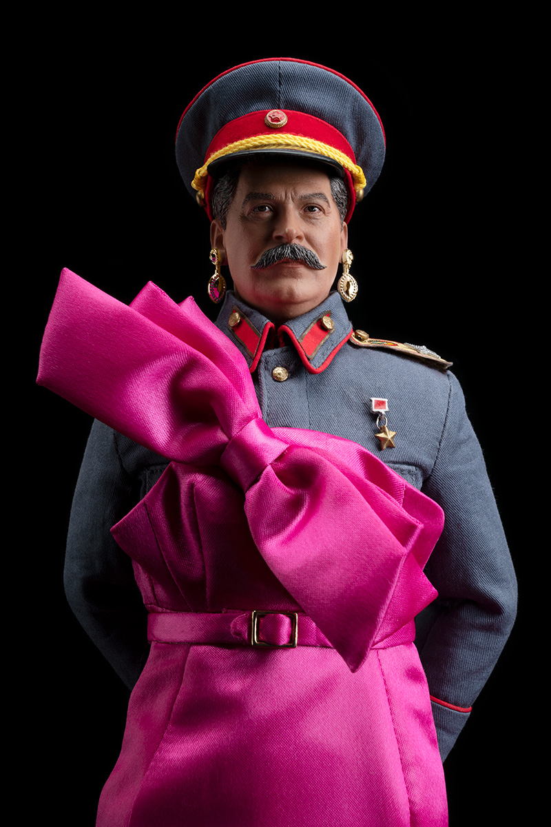 STALIN IS THE FAIREST DICTATOR OF THEM ALL! (in Pink!)