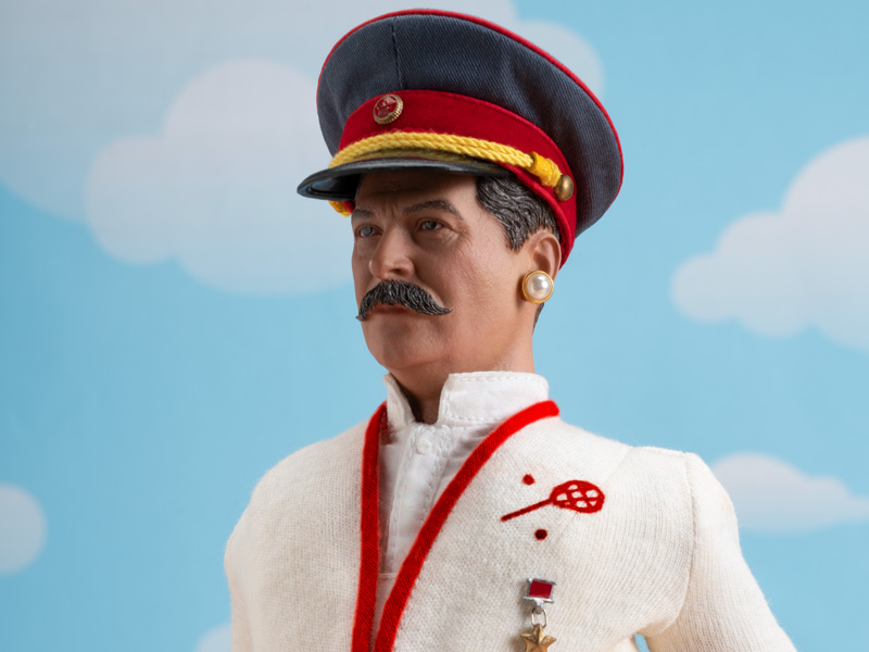 STALIN IS THE FAIREST DICTATOR OF THEM ALL! - Joseph Stalin (w/ Jim Riswold)