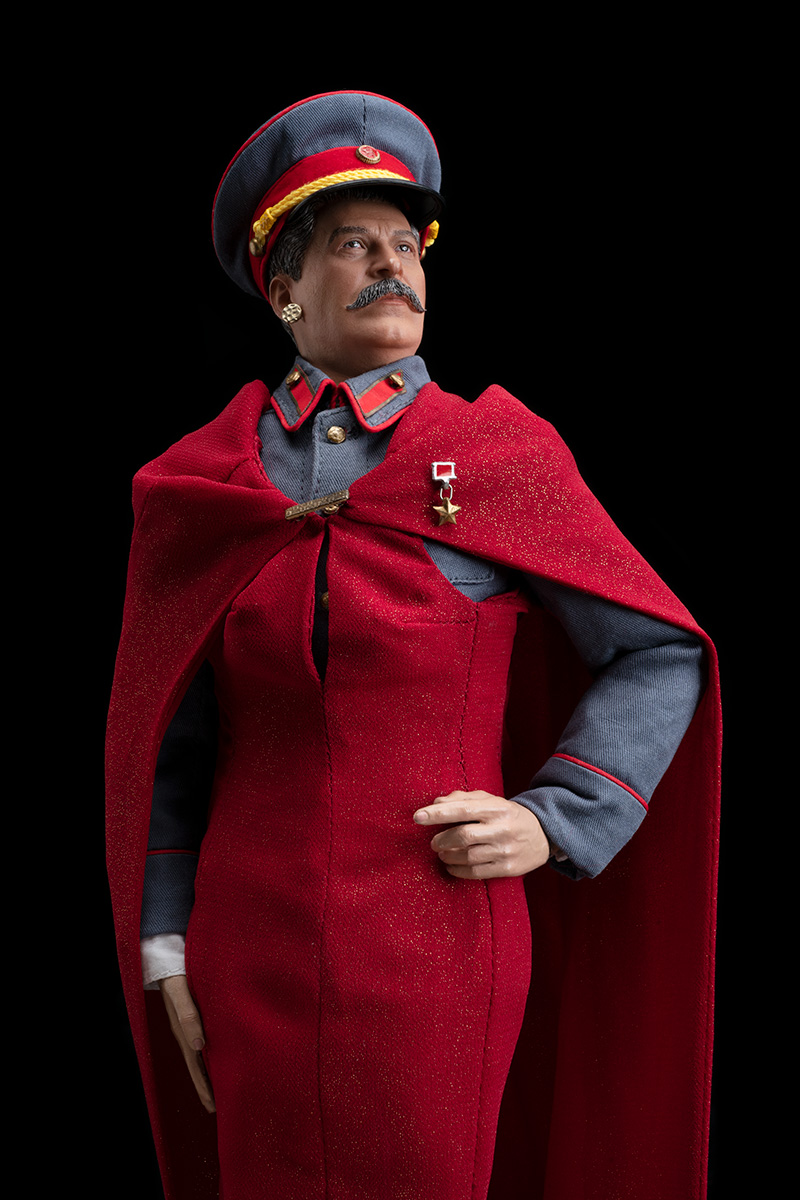 STALIN IS THE FAIREST DICTATOR OF THEM ALL!  (at NYFW!)