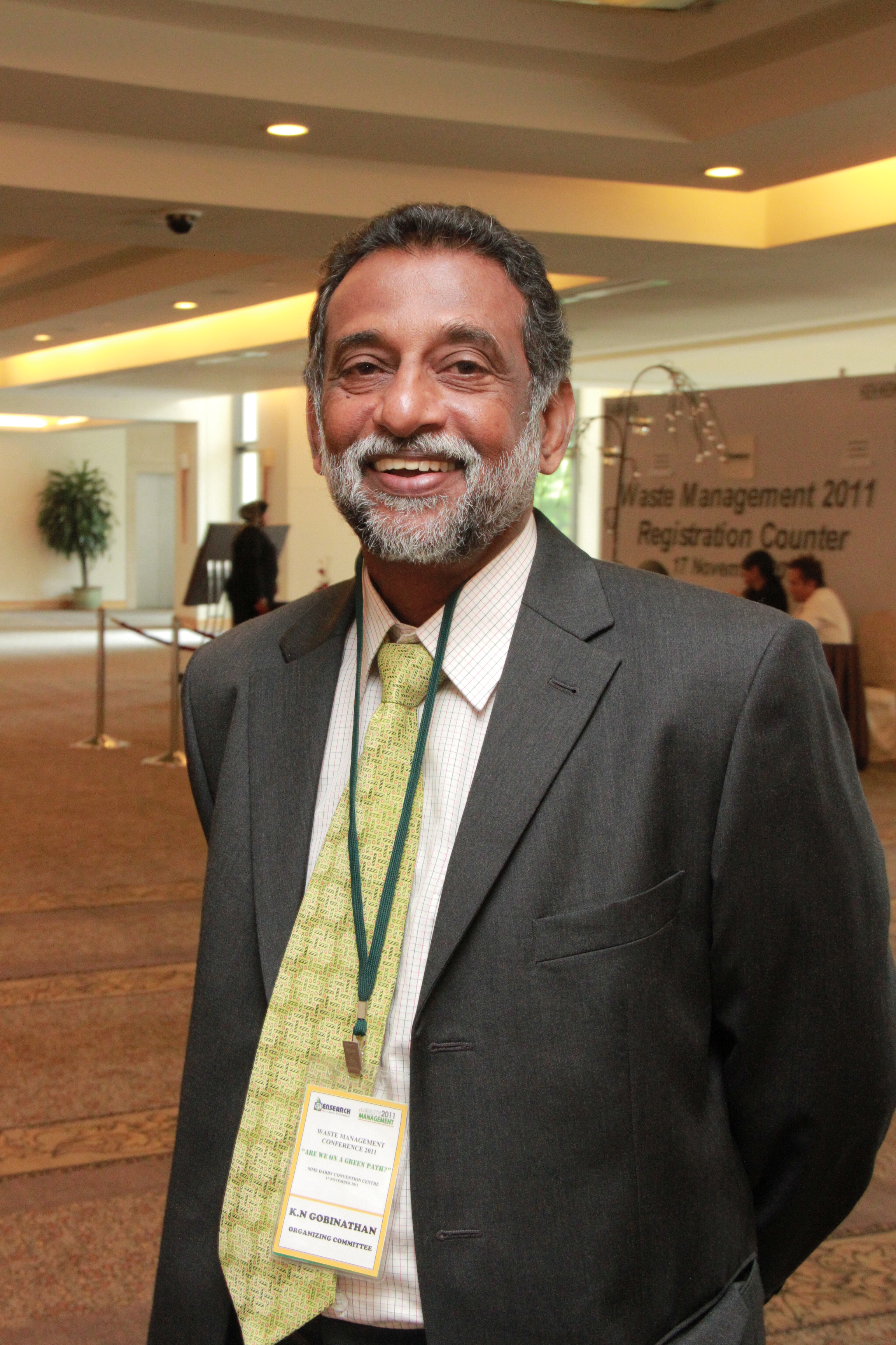 MR k n GOBInathan - Vice President, ENSEARCH