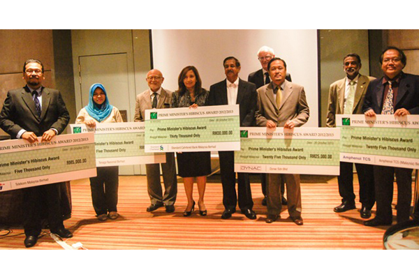 cheque presentation ceremony - 2012-2013