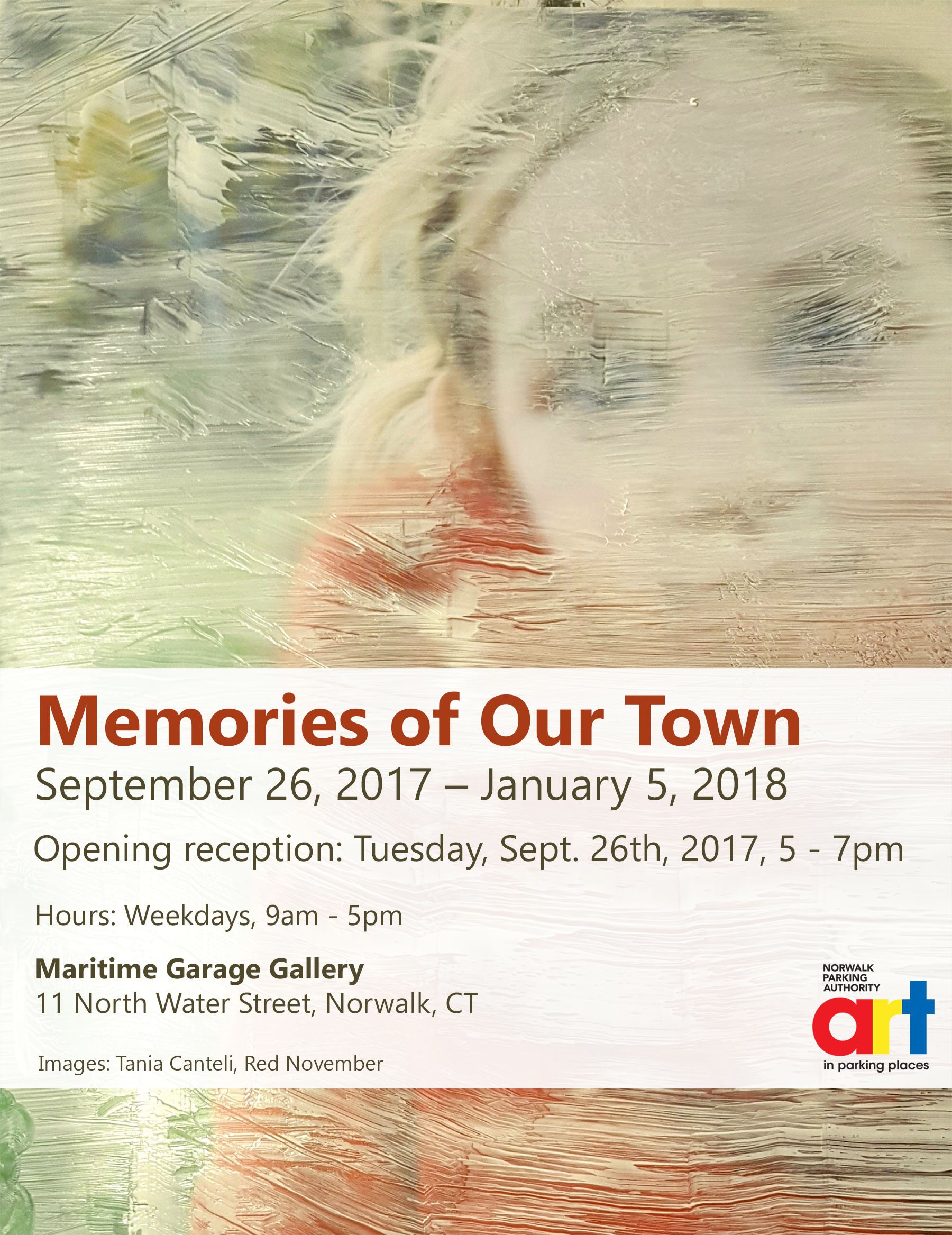 Memories of Our Town, invite, Curator Nadia Martinez Faculty New York School of the Arts.jpg
