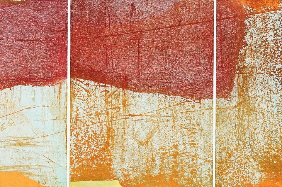 Taka Maruno Untitled (TriRonY) Color Viscosity Etching 12x27.jpg