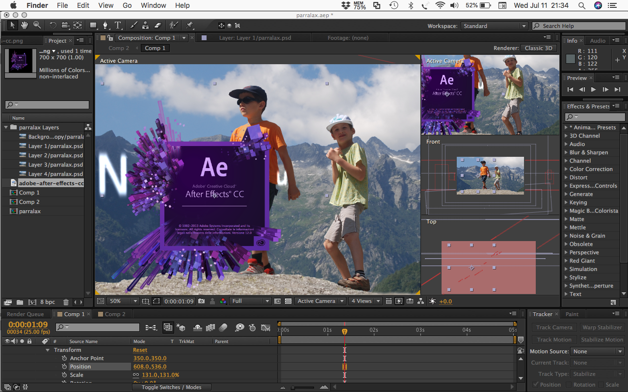 After Effects class nyc