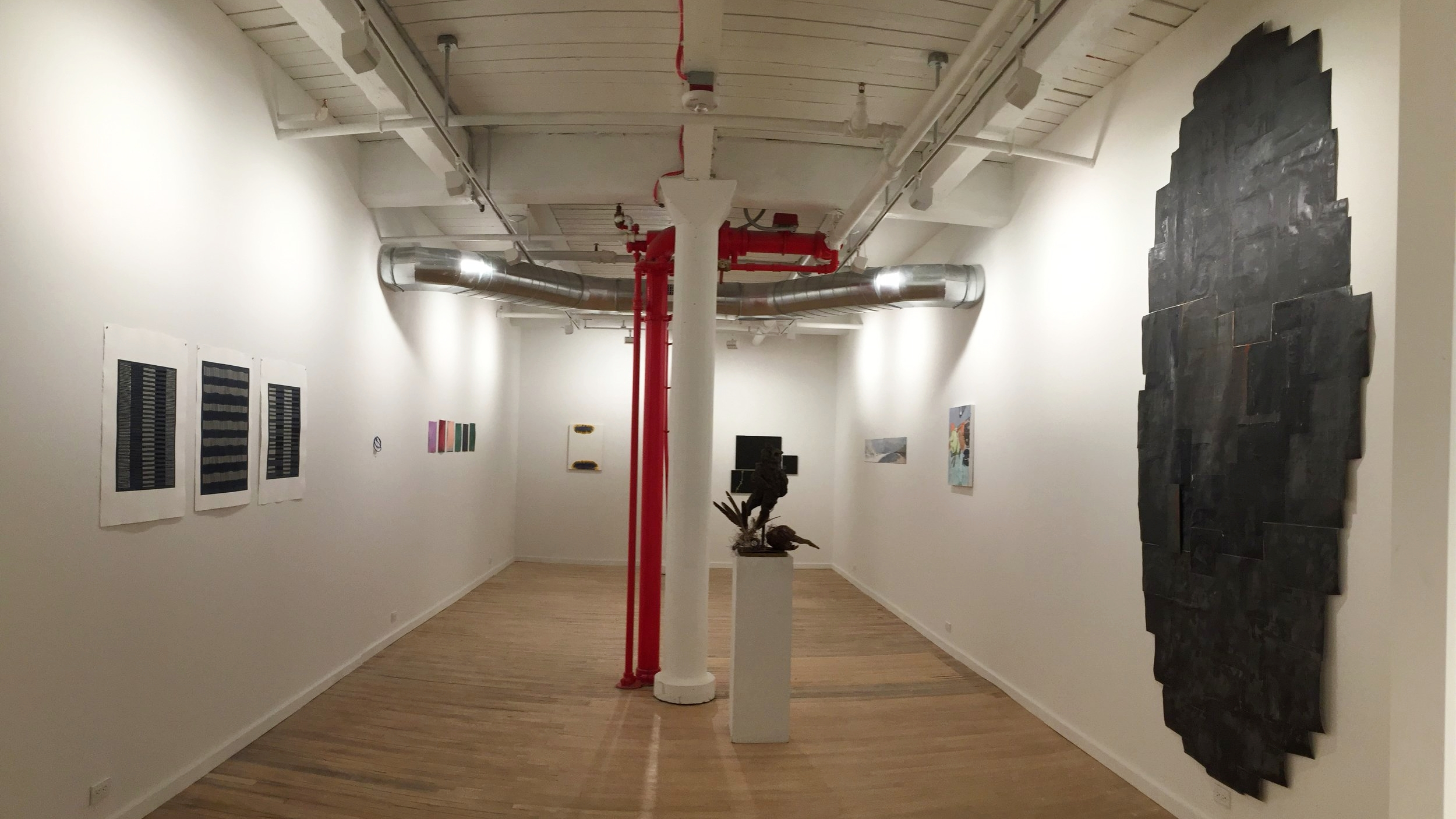 Arts Intensive Exhibition, THE HUB Gallery.JPG