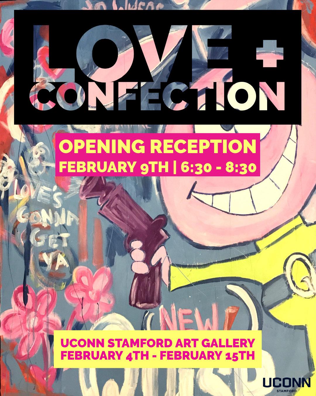 LOVE + CONFECTION, UConn Stamford Art Gallery Feb 2019.jpg