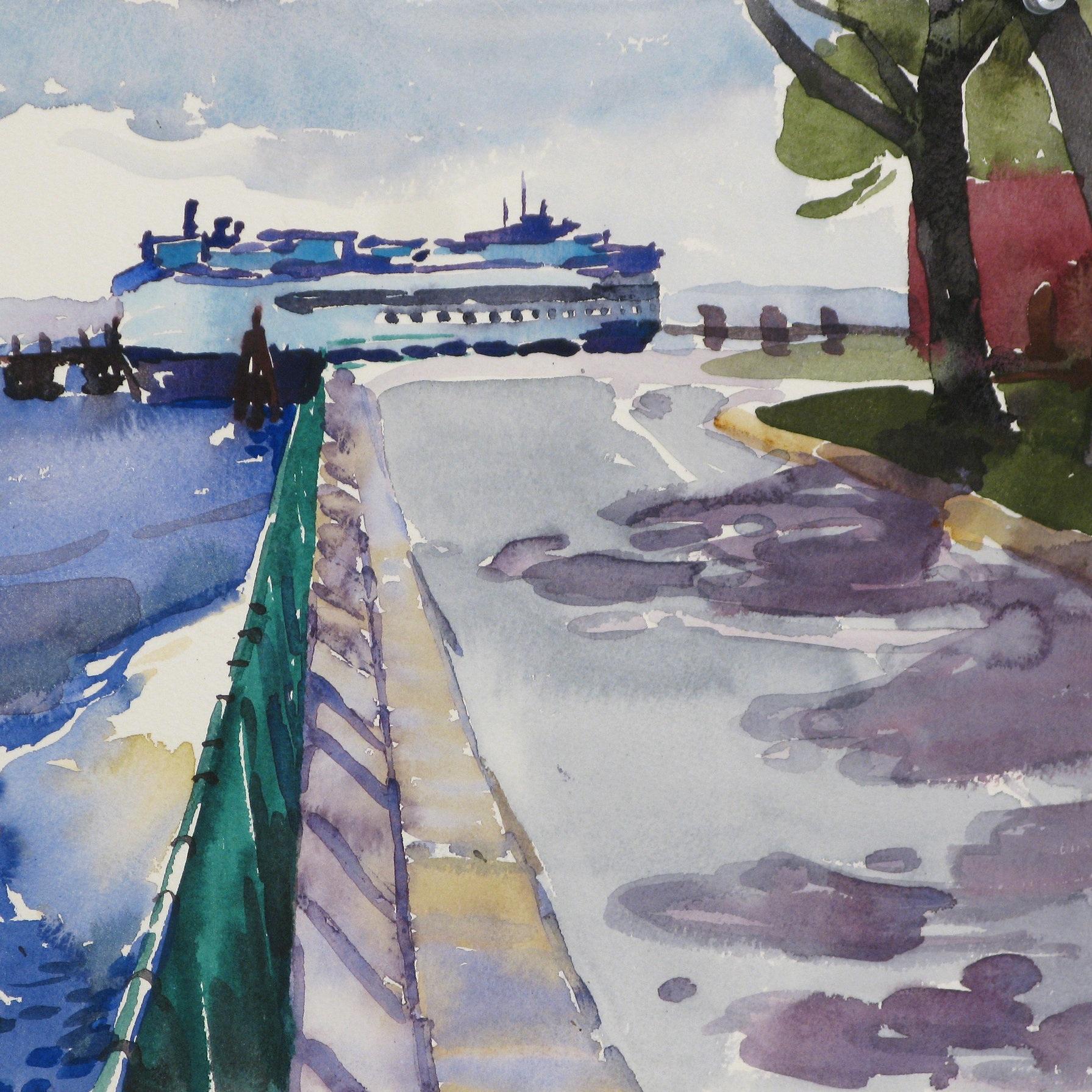 Kamilla Talbot Watercolor Class