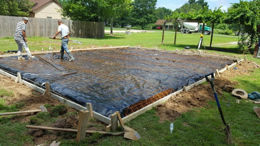 We lay concrete foundations!