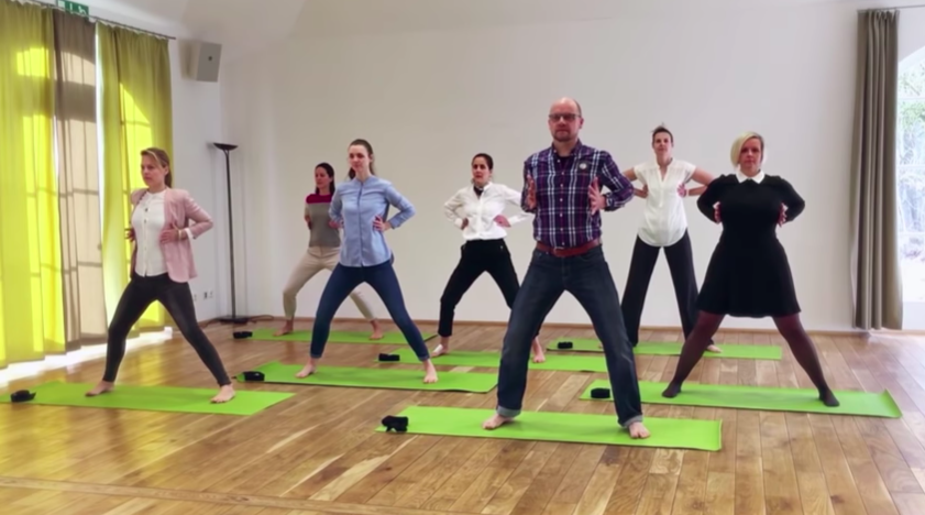Inner Axis - 30 - Inner Axis utilizes gentle movement and breathing techniques to manage the symptoms of stress, sleeplessness, PTSD, and more. Developed by Max Strom this is his original 30-minute practice that can be done in plain clothes and without any props.