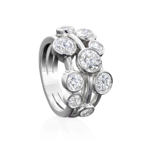 DIAMOND MEDLEY RING