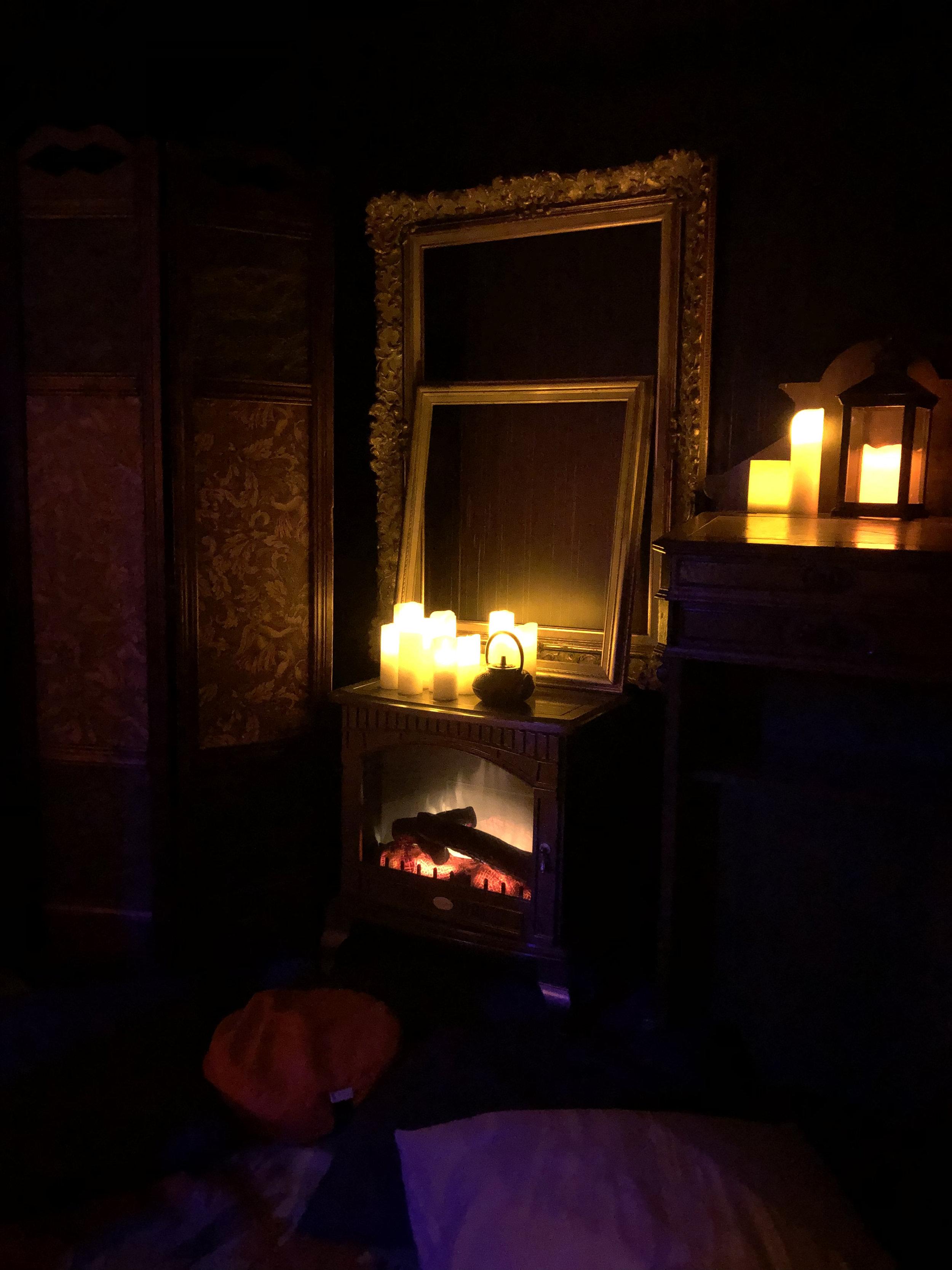 warm yourself -