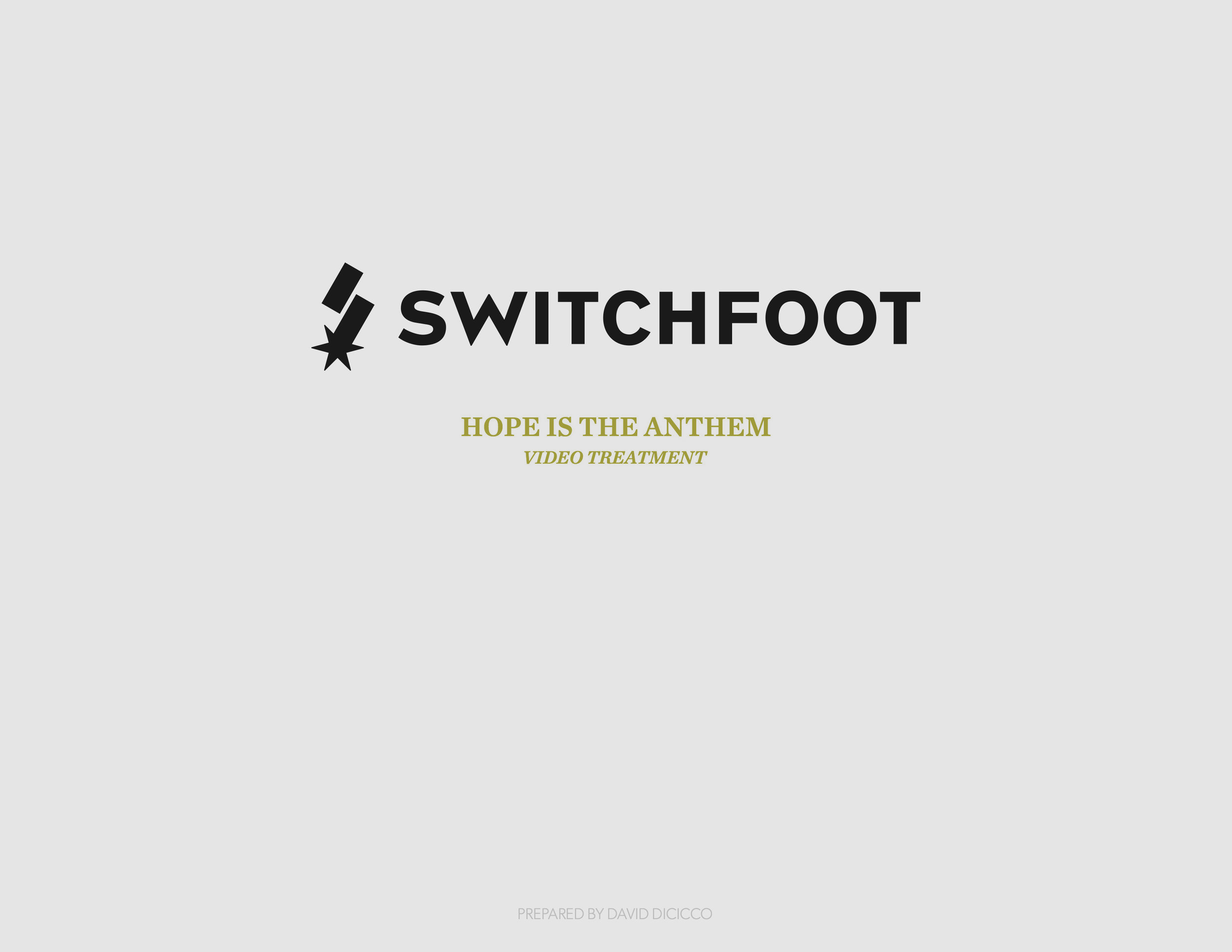 Switchfoot - Hope is the Anthem