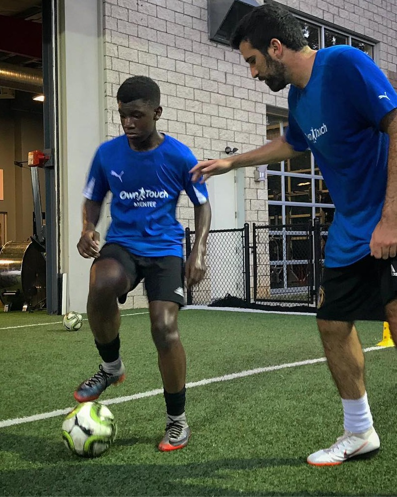 INDIVIDUALIZED TRAINING PROGRAMS - - Classes led by our Own Touch Staff focus on the core technical skills required of all soccer players at every level- 8 to 1 Mentee to Mentor ratio-Private sessions available for all Mentees to provide additional training or evaluations catered to the player