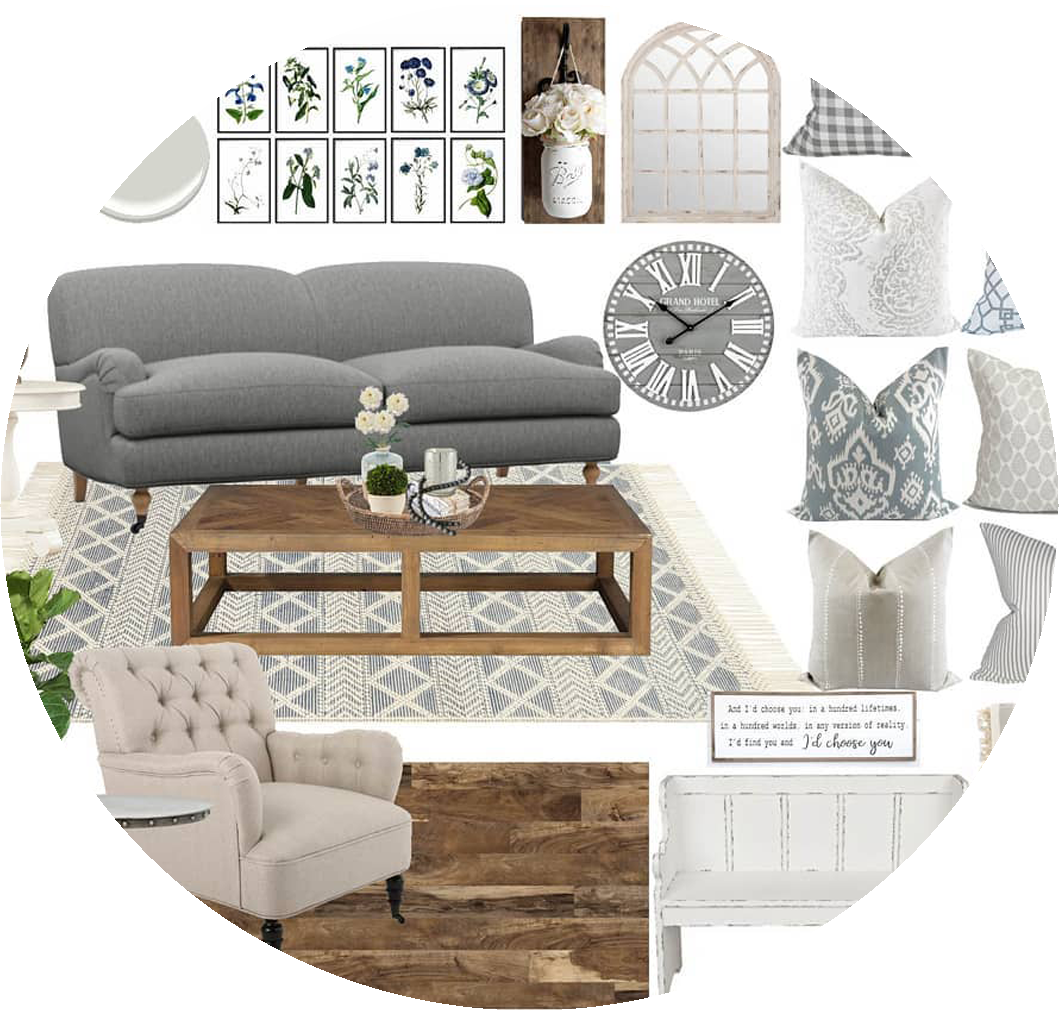 Refresh E-Design Service - This package is perfect if you don't need the full design, just help picking out paint, materials and furnishings. You get a furniture & decor concept board with all the paint, textiles, furniture and decor pieces you need to complete your space; as well as written set up instructions, a shopping list and complementary ordering service.Click the image to learn more!