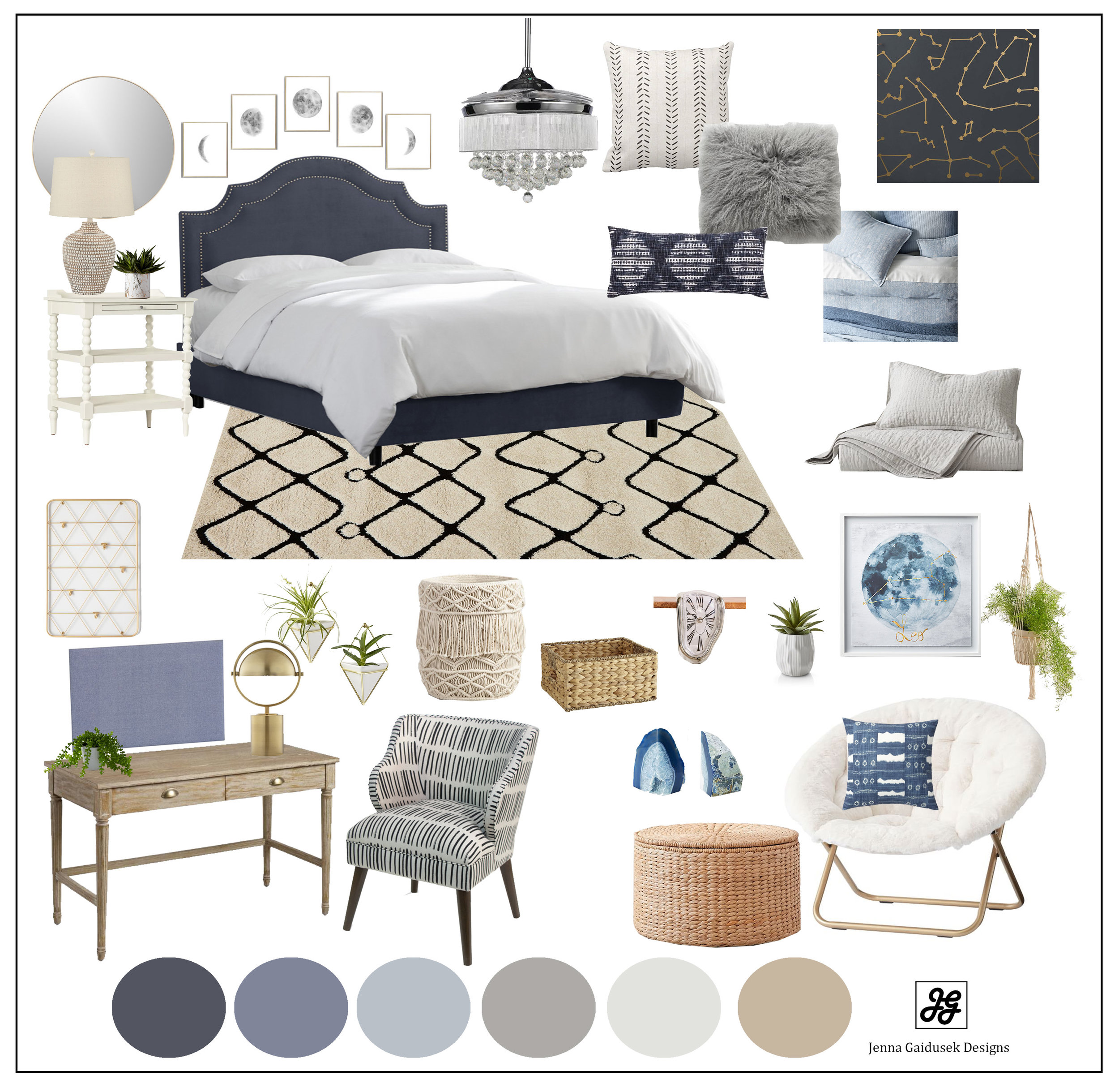 Teen bedroom astrology