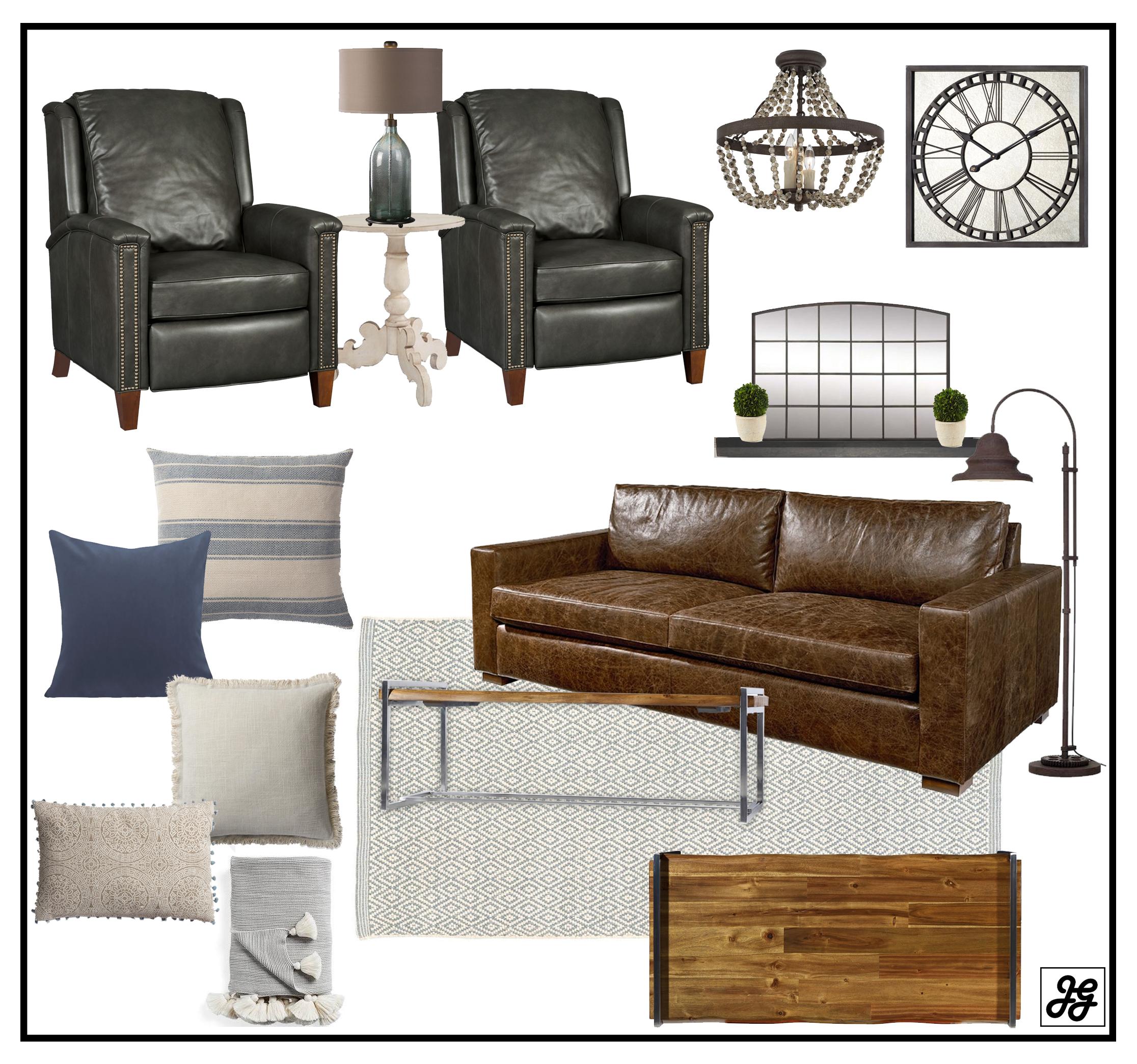 Fixerupper living room