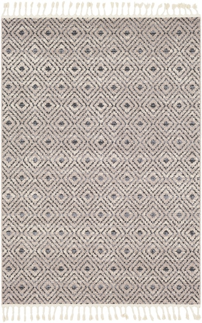 Restoration REO-2306 Area Rug diamond plush farmhouse rug