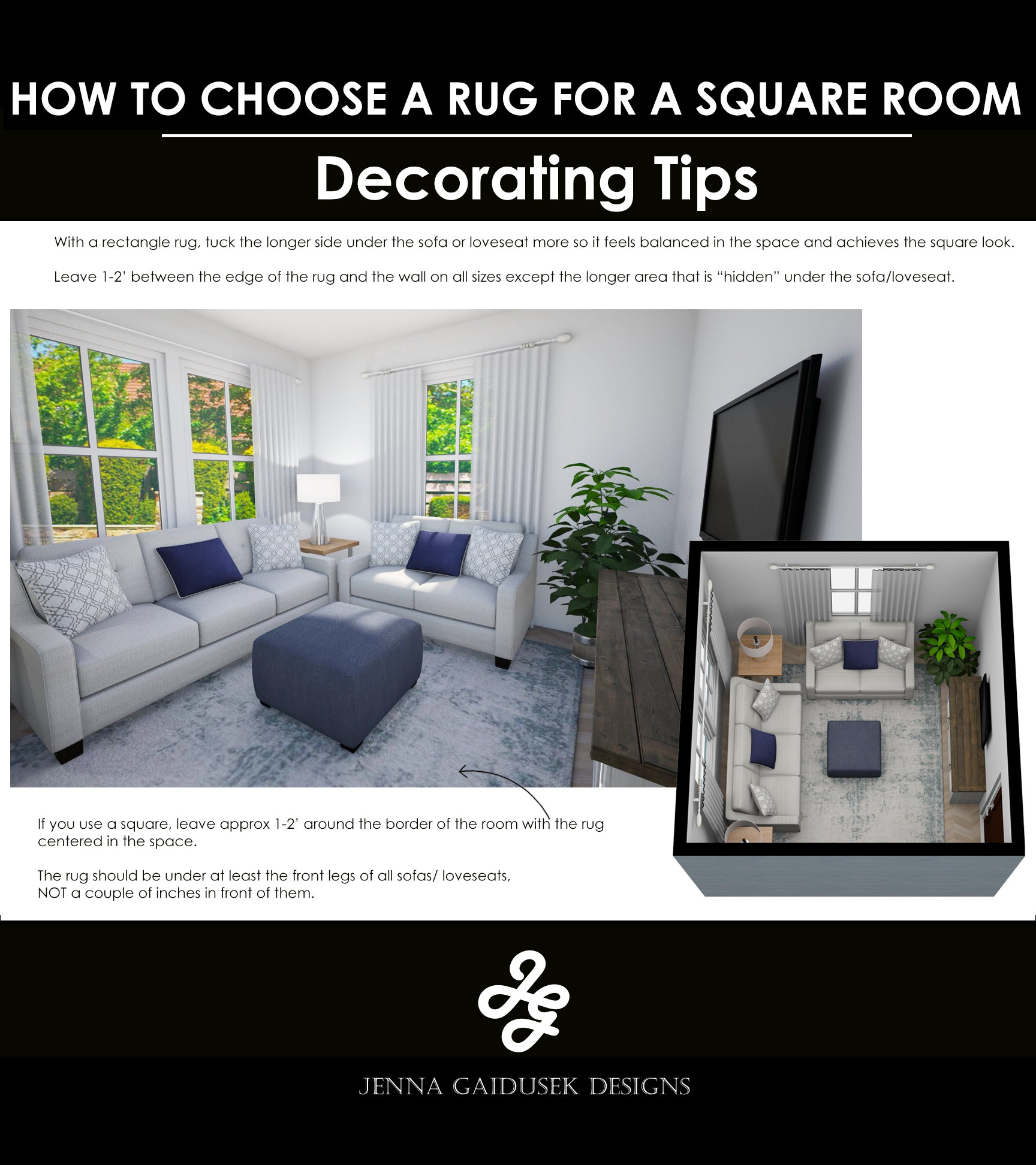What is the right size rug for your living room? What size rug do you need for a square living room. How do you layer rugs? Farmhouse rugs. How to pick a room in a rectangular room. Best rug sizes. #freakingawesomefarmhouserugs #howtochoosearug #bestrugs #neutralrugs #transitionalrug #squareroomrug